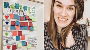 Teacher Introduces Mental Health Board To Help Students Talk About Their Feelings
