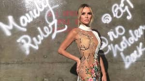 Amanda Holden's See-Through 'Britain's Got Talent' Dress Had Literally Everyone Talking Last Night