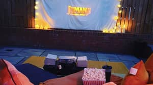 People Are Making Outdoor Cinemas At Home In Lockdown