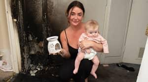 Mum's Warning After B&M Wax Burner Ignites Leaving Her Homeless