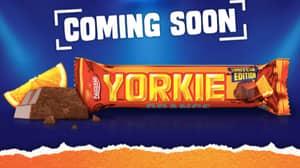 Nestle Launching Orange Yorkie Bars In The UK From Next Week