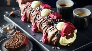 M&S's Christmas Colin The Caterpillar Cake Arrives In Stores Today