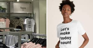 M&S Shoppers Lose It As T-Shirt Appears To Say Something Very NSFW
