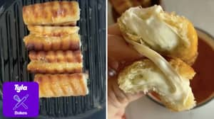 People Are Making Grilled Cheese Roll Ups And They Look So Good