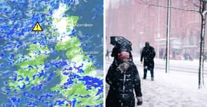 Storm Ciara Will Bring Snow To Major UK Cities Today, Met Office Warns