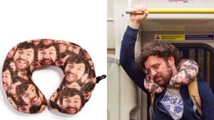 You Can Now Get A Travel Cushion With Your Best Mate's Face On