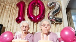 Britain's Oldest Twins Celebrating Their 102nd Birthday Share Secrets To Staying Young