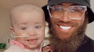 Ex On The Beach's Ashley Cain Raises £1m On GoFundMe For Baby Daughter's Life-Saving Treatment