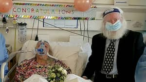 Couple Of 46 Years Marry In Hospital After Bride Is Struck Down With Coronavirus