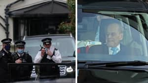 BREAKING: Prince Philip Duke Of Edinburgh Leaves Hospital