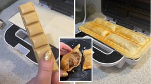 This Caramilk And Mars Bar 'Sausage Roll' Is Blowing People's Minds
