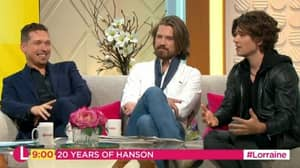 Hanson Amaze Viewers As They Appear On 'Lorraine' And Reveal They Have 13 Kids Between Them