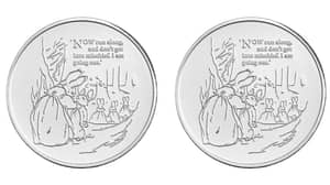 Royal Mint Releases Limited Edition Peter Rabbit Coin