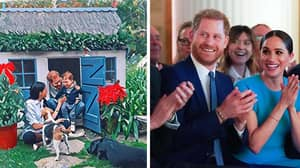 Fans Get Rare Glimpse Of Baby Archie In Harry And Meghan's Annual Christmas Card