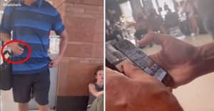 Woman Catches Man Taking Photos Of Her And Forces Him To Delete Them