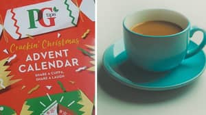 You Can Now Buy PG Tips Advent Calendars For The Tea Lover In Your Life