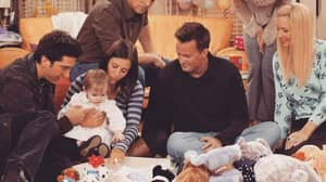 'Friends' Baby Emma Actor Says She's Woken Up From Her Nap After Chandler's Video Message