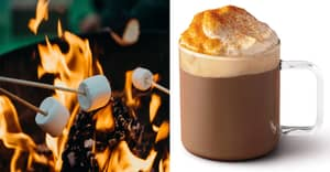 A Toasted Marshmallow Hot Chocolate Has Landed At Starbucks