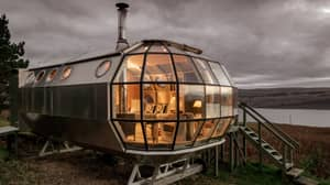 You Can Now Stay In A Remote Airship In The Scottish Highlands