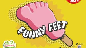 Iceland Is Bringing Back Wall's Funny Feet Ice Creams