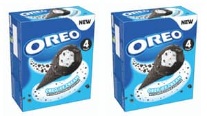 Oreo Launches New Ice Cream Cone For Spring