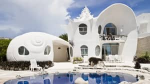 You Can Now Live Your Mermaid Dreams In This Shell-Shaped Airbnb In Mexico