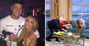 Chris Hughes Breaks Down In Tears As He Discusses Girlfriend Jesy Nelson Being Trolled