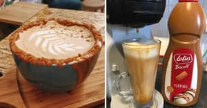 People Are Making Biscoff Lattes At Home – And It Looks So Easy