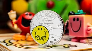 Royal Mint Launches Mr Men Collection