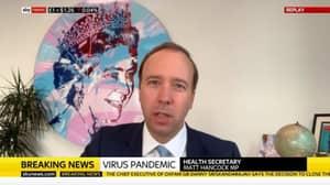 Health Secretary Matt Hancock Gets Marcus Rashford Confused With Harry Potter During Live TV Interview