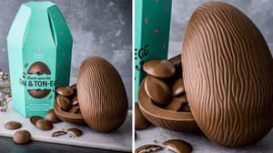 M&S Launches Gin And Tonic Easter Egg Filled With Boozy Pink Gin Buttons
