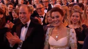 Brad Pitt Makes Awkward Prince Harry Joke At BAFTAs In Front Of Kate And Prince William