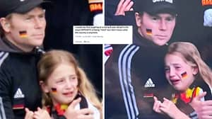 Euro 2020: England Fans Rush To Defend Crying Euro Girl After Trolls Pile On