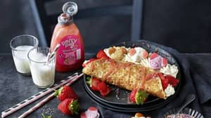 M&S Cafés Are Serving Percy Pig Pancakes For Shrove Tuesday