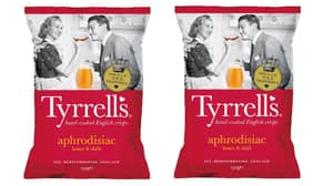 Tyrrells Is Selling 'Aphrodisiac' Crisps To Spice Up Valentine's Day