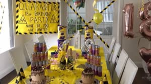 Mum Throws Daughters An '18 In Quarantine' Birthday Party And It's Absolute Goals