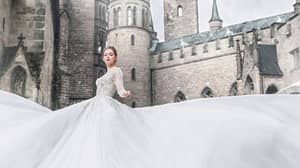 Disney Launches New Line Of Princess-Inspired Wedding Dresses