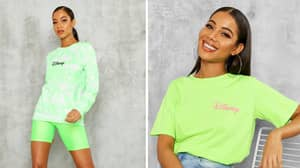 Boohoo's New Disney Collection Is On-Trend Neon