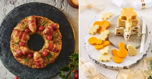 Sainsbury's Christmas Food Range Includes A Wreath Made Of Stuffing And Pigs In Blankets