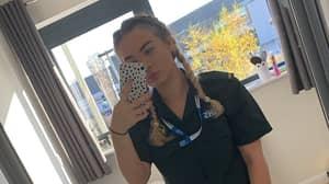 NHS Worker Shamed For Wearing Full Face Of Make-Up To Do Her Job