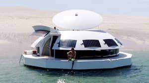 You Can Now Hire A Floating Party Pod To Sail The Sea In