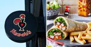 Nando's Has Launched A Spicy Garlic, Pineapple And Coconut Chicken Wrap