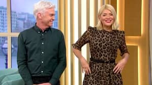 Holly Willoughby In Tears On 'This Morning' When Surprised With Basket Of Puppies