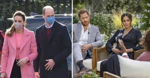 Prince William Breaks Silence On Harry And Meghan Oprah Interview And Race Row
