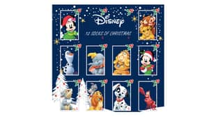 You Can Now Get An Advent Calendar Full Of Disney Christmas Socks