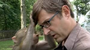 Unearthed Clip Of Louis Theroux Meeting Baboon In 'Joe Exotic' Doc Is TV Gold