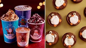 Costa's Christmas Menu Has Been Revealed And It's Super Festive
