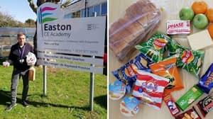 Teachers Slam 'Shameful' Food Package For Children On Free School Meals