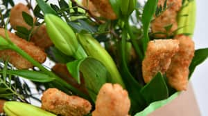 You Can Now Get Vegan Chicken Nugget Bouquets For Valentine's Day