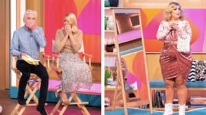 Holly Willoughby In Tears Live On Air After Makeover Goes Seriously Wrong